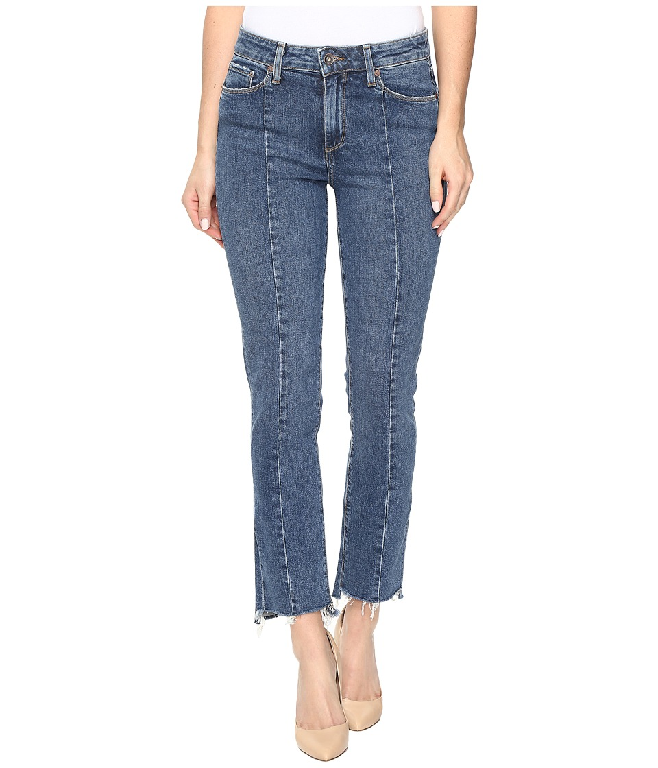 Paige - Jacqueline Straight w/ Seaming Details and Uneven Hem in Felice (Felice) Women's Jeans