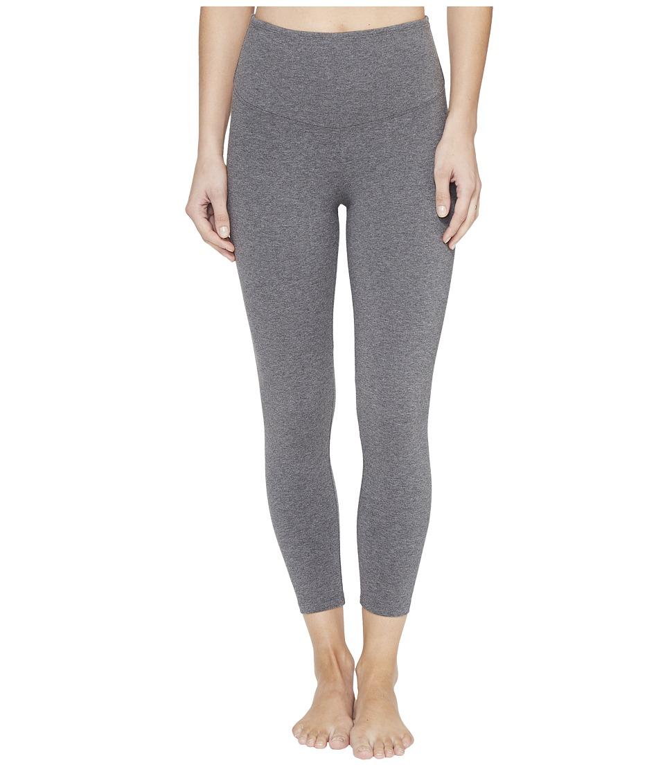 Yummie - Gloria Skimmer (Heathered Charcoal) Women's Casual Pants