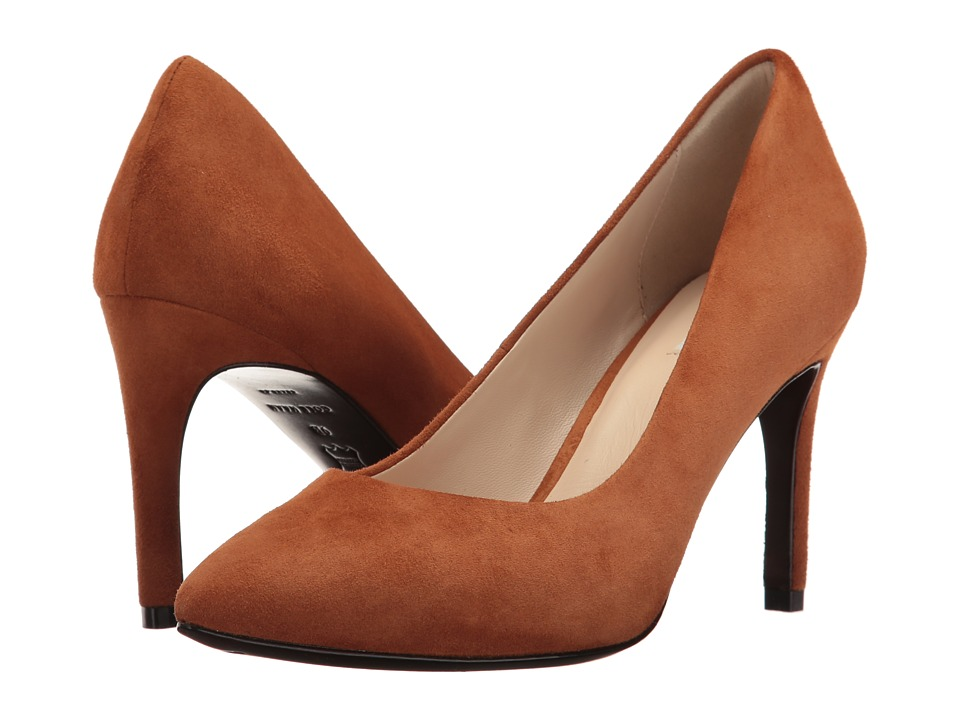 Cole Haan Eliza Grand Pump 85mm (British Tan Suede) Women
