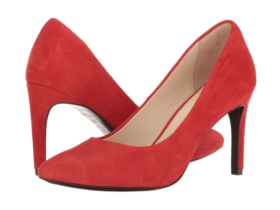 Cole Haan Eliza Grand Pump 85mm (Molten Lava Suede) Women