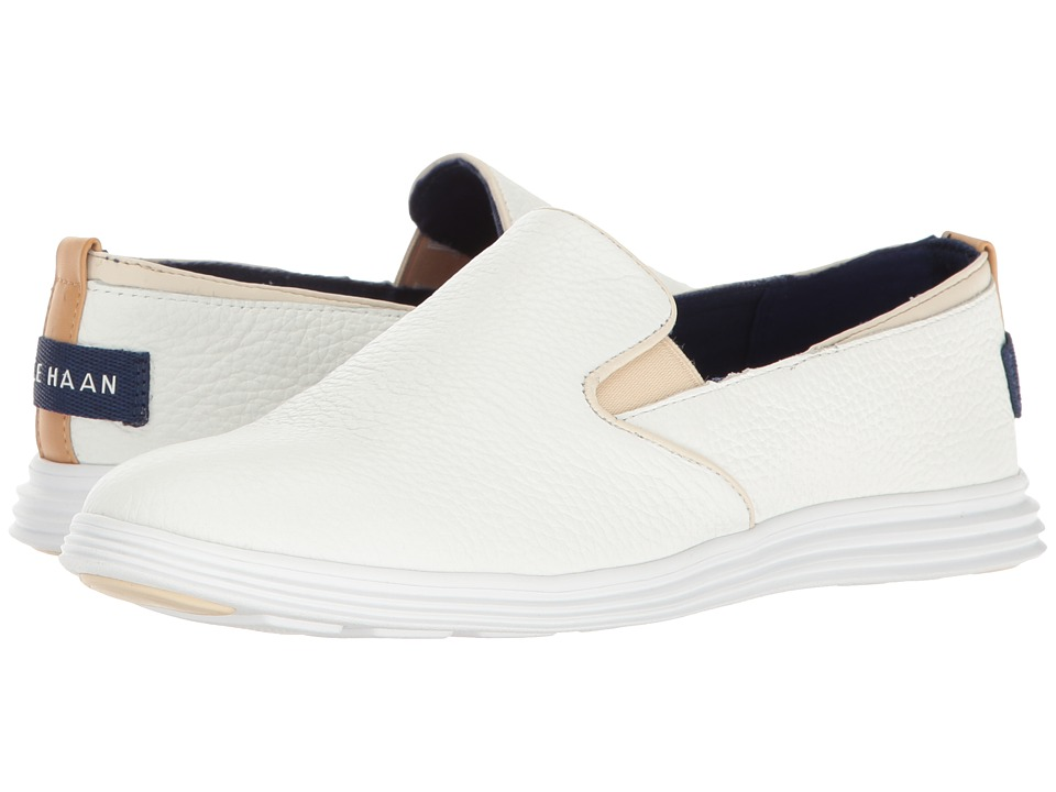 Cole Haan - Ella Grand 2 Gore Slip-On (Optic White/Optic White) Women's Slip on Shoes