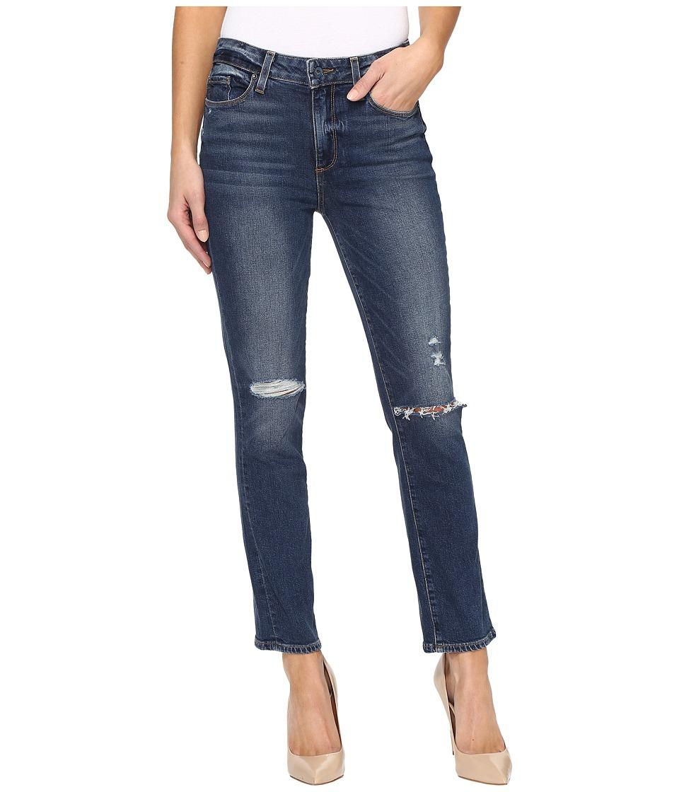 Paige - Jacqueline Straight in Nerea Destructed (Nerea Destructed) Women's Jeans