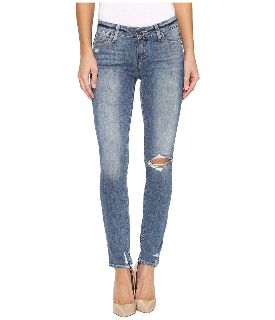 Paige - Hoxton Ankle in Pryor Destructed (Pryor Destructed) Women's Jeans