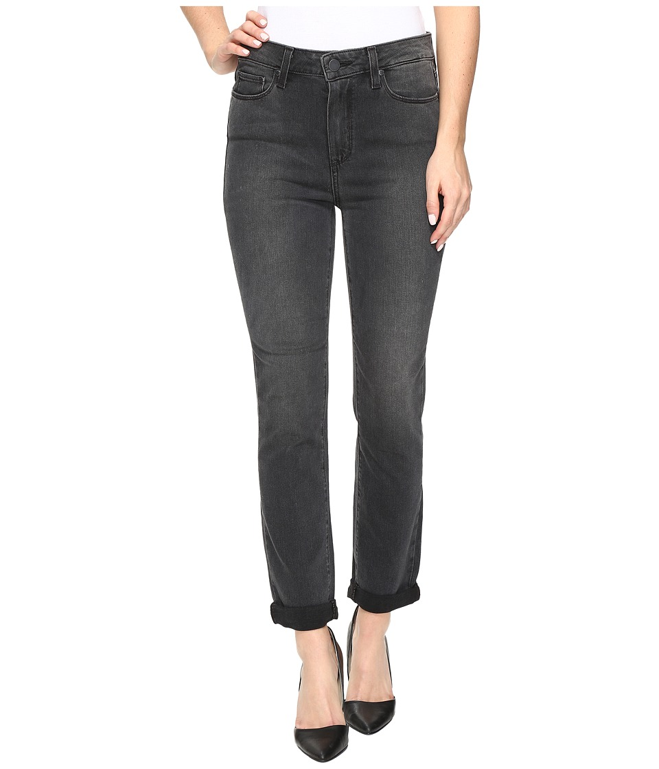 Paige - Hoxton Crop Rollup in Smoke Grey (Smoke Grey) Women's Jeans