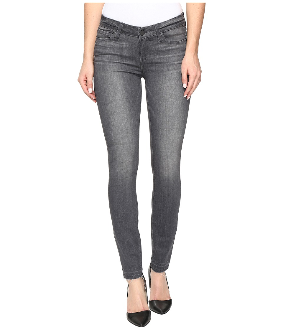 Paige - Verdugo Ankle w/ Undone Hem in London Grey (London Grey) Women's Jeans