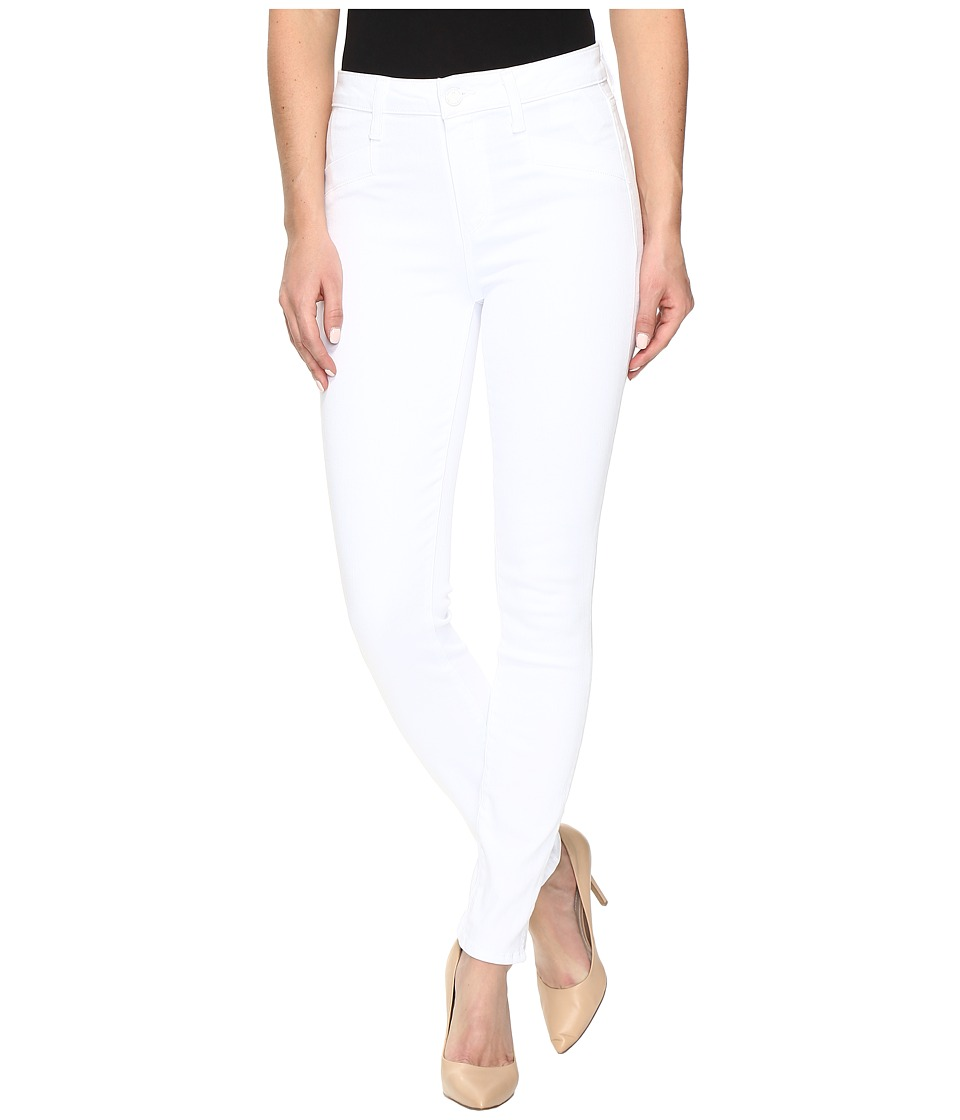 Paige - Roxxi Ankle w/ Side Slits in Ultra White (Ultra White) Women's Jeans