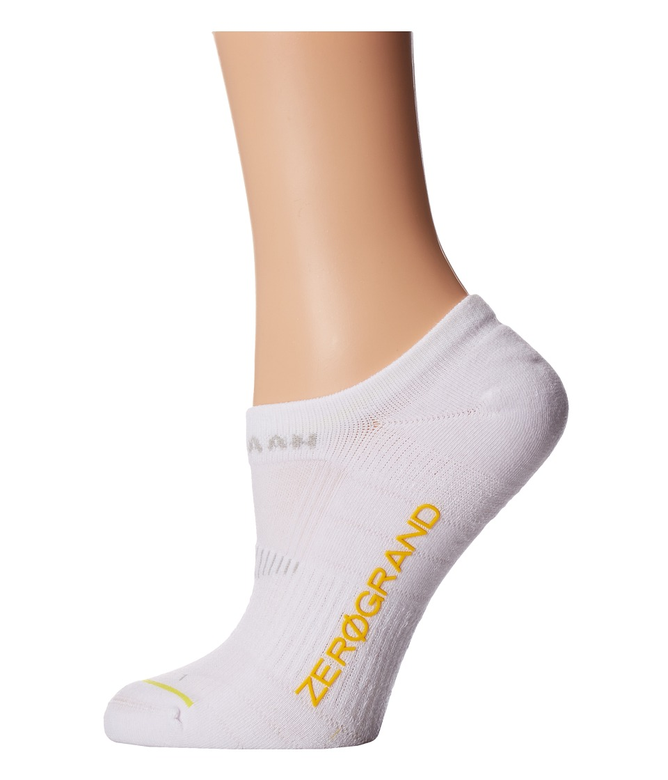Cole Haan - ZeroGrand Liner (White) Women's Crew Cut Socks Shoes