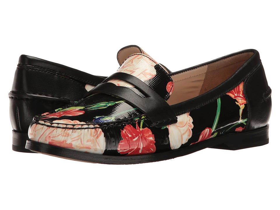 Cole Haan - Pinch Grand Penny (Spring Floral/Black Combo) Women's Slip on Shoes