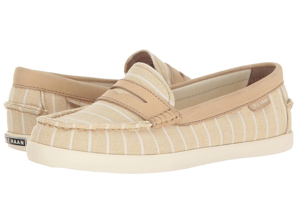 Cole Haan - Pinch Weekender (Tan Stripe/Tan Leather Prep Prints) Women's Slip on Shoes