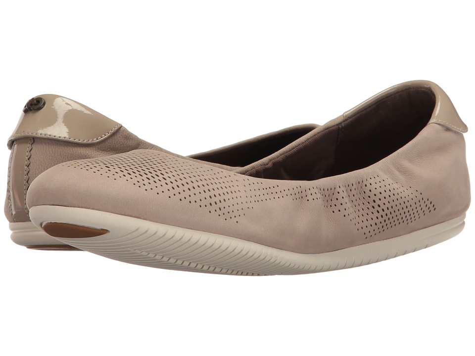 Cole Haan - 2.0 Studiogrand Convertible Ballet (Simply Taupe Nubuck/Ivory) Women's Ballet Shoes