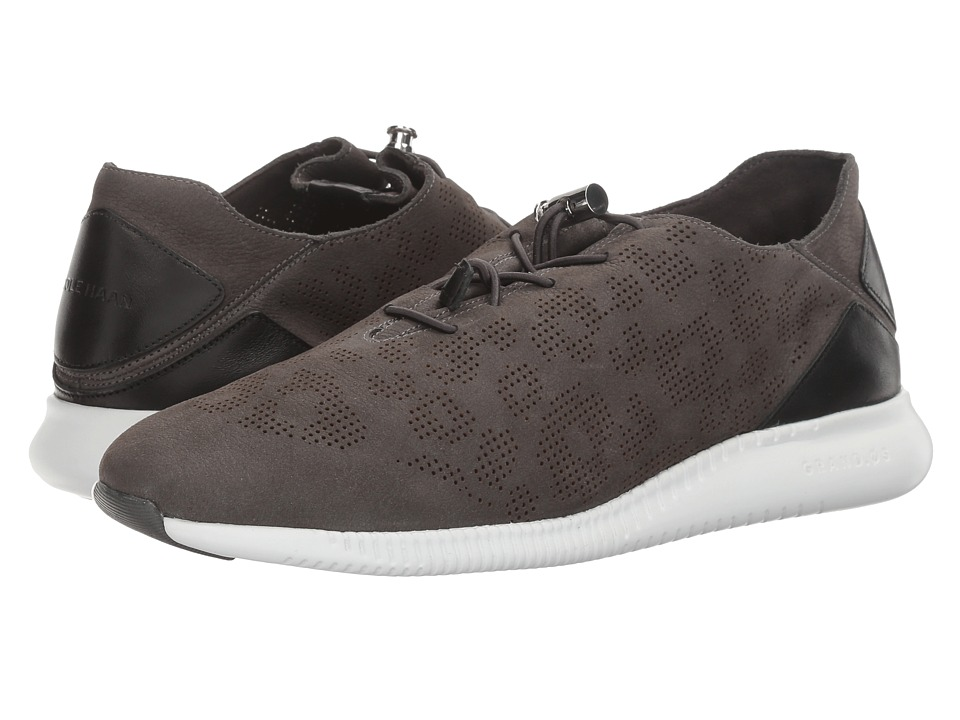 Cole Haan - Studiogrand PG TRN (Magnet Perf Ocelot Nubuck/Black Leather/Optic White) Women's Shoes