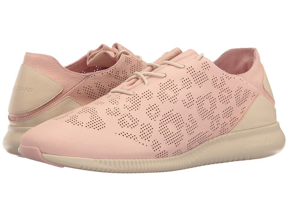 Cole Haan - Studiogrand PG TRN (Silver/Pink Perf Ocelot Nubuck/Sandshell Leather/Fog) Women's Shoes