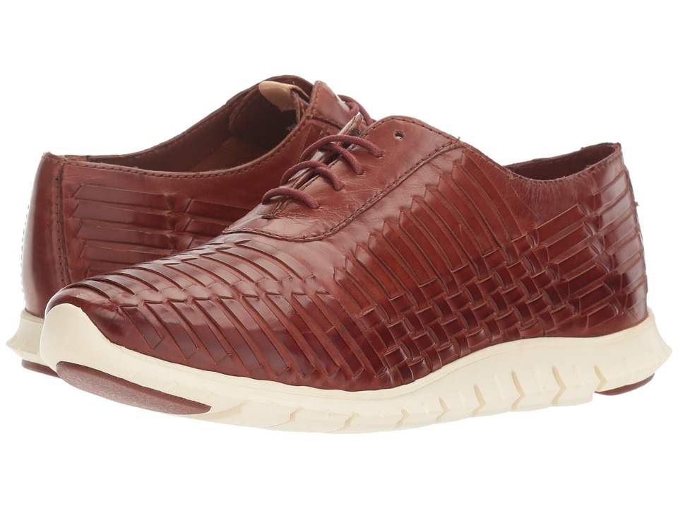 Cole Haan - Zerogrand Huarache Oxford (Brown Leather) Women's Lace up casual Shoes