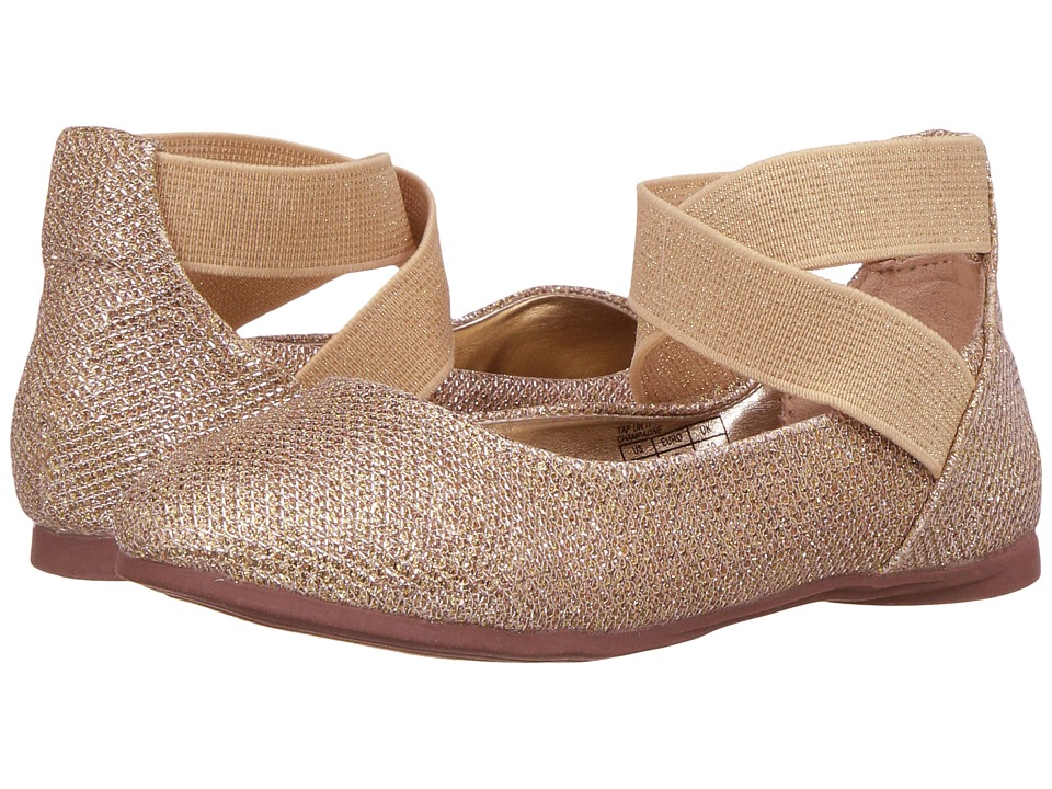 Kenneth Cole Reaction Kids Tap UR It (Little Kid/Big Kid) (Champagne) Girls Shoes