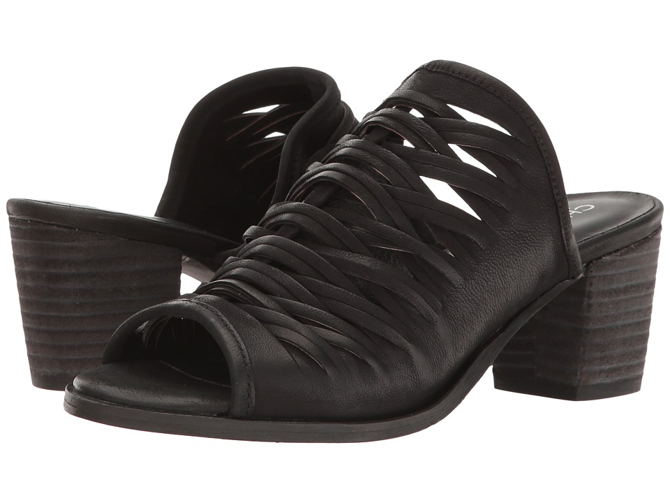 Charles by Charles David - Chris (Black Leather) High Heels