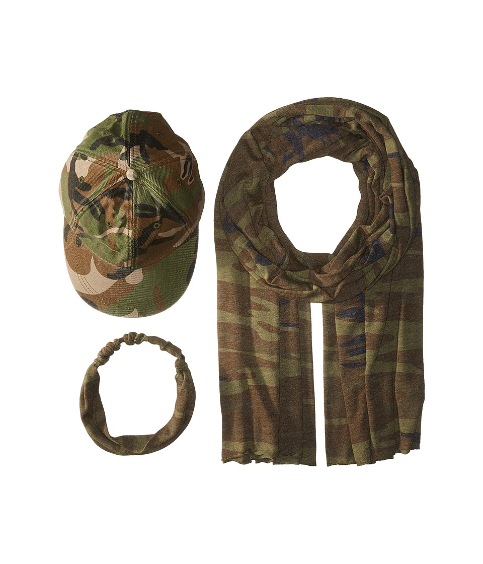 Alternative - Camo Set (Camo) Scarves