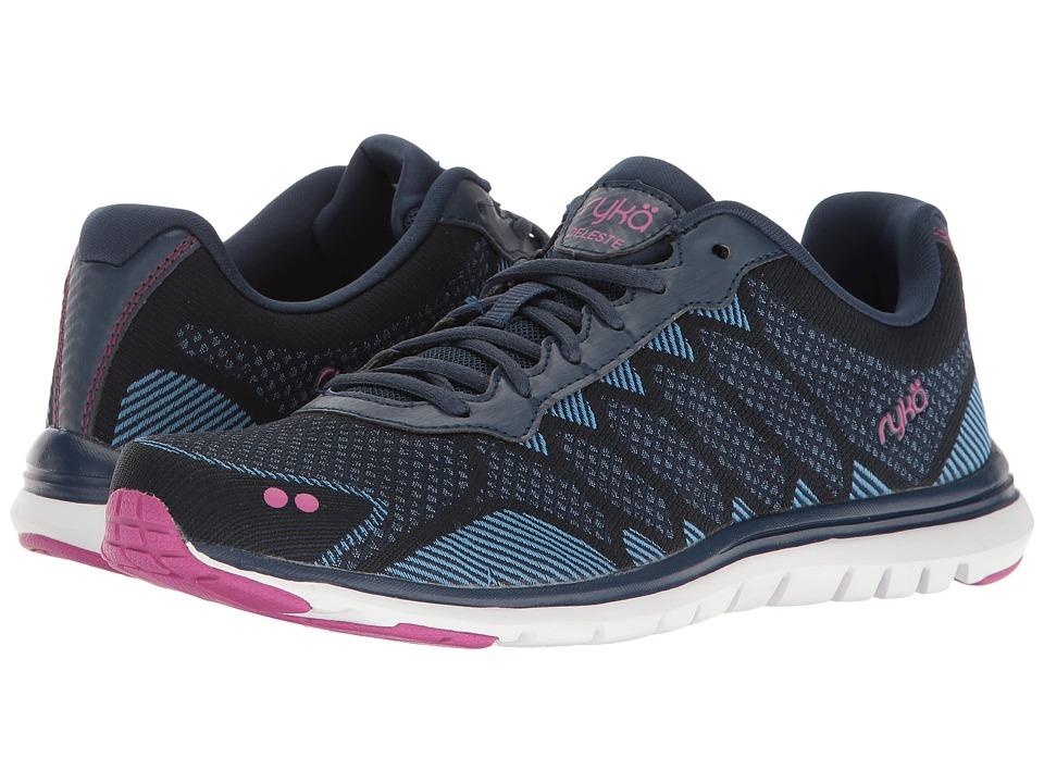 Ryka - Celeste (Insignia Blue/Elsa Blue/Vivid Berry) Women's Shoes