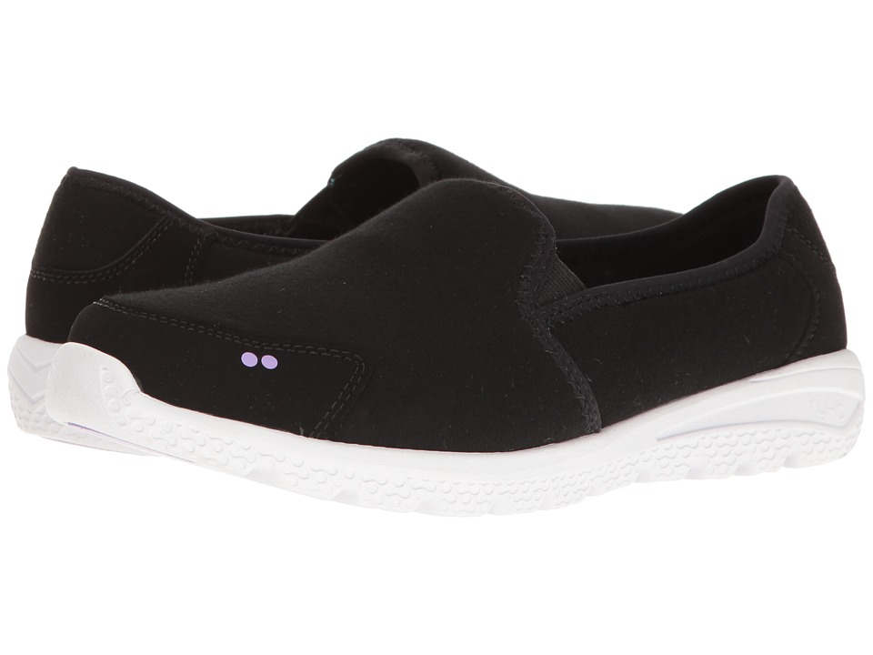 Ryka - Harlow (Black/Purple Ice) Women's Slip on Shoes