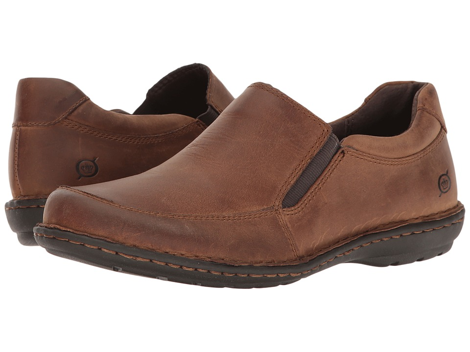 Born - Kaylin (Brown Full Grain) Women's Shoes