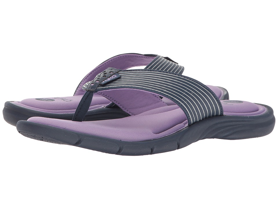 Ryka - Refresh (Insignia Blue/Purple Ice/Chrome Silver) Women's Sandals