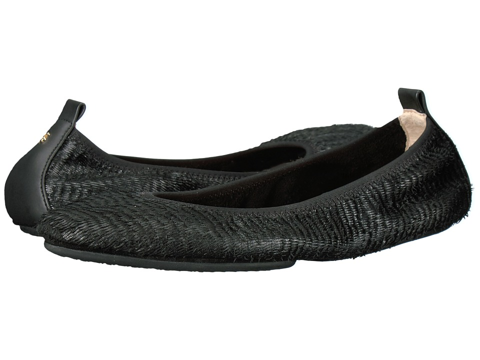 Yosi Samra - Vienna Pointed Toe (Black) Women's Flat Shoes