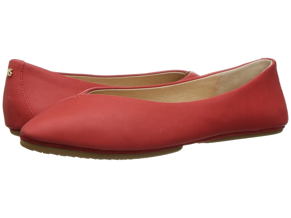 Yosi Samra - Valerie (Engine Red) Women's Flat Shoes