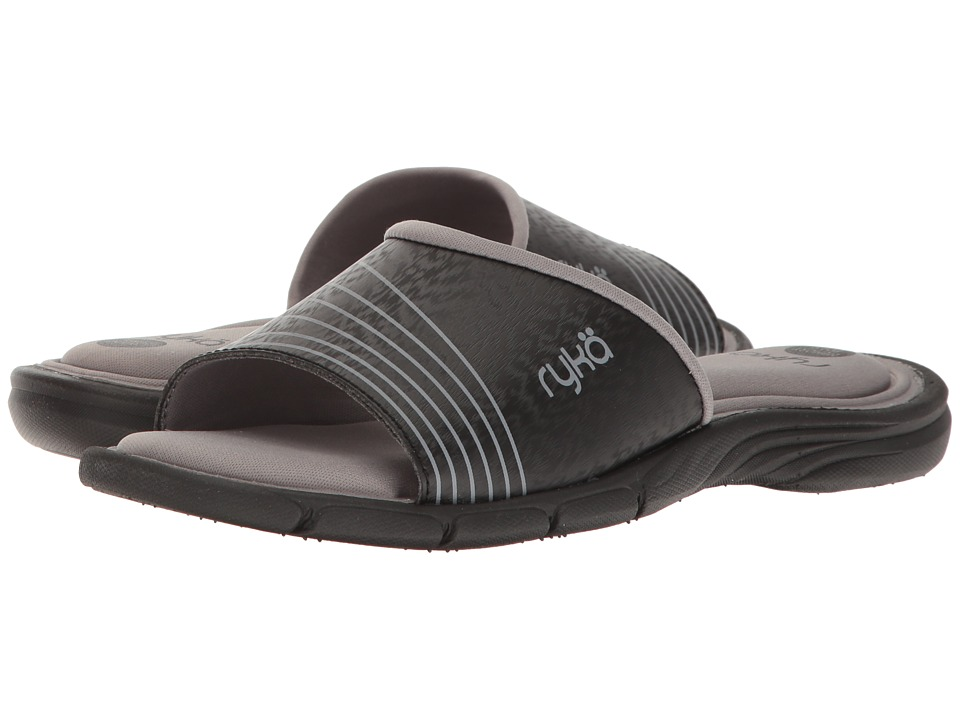 Ryka Reagan (Black/Frost Grey) Women