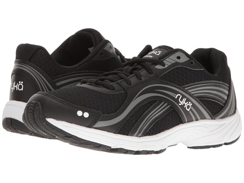 Ryka - Spark SMW (Black/Meteorite/White) Women's Shoes