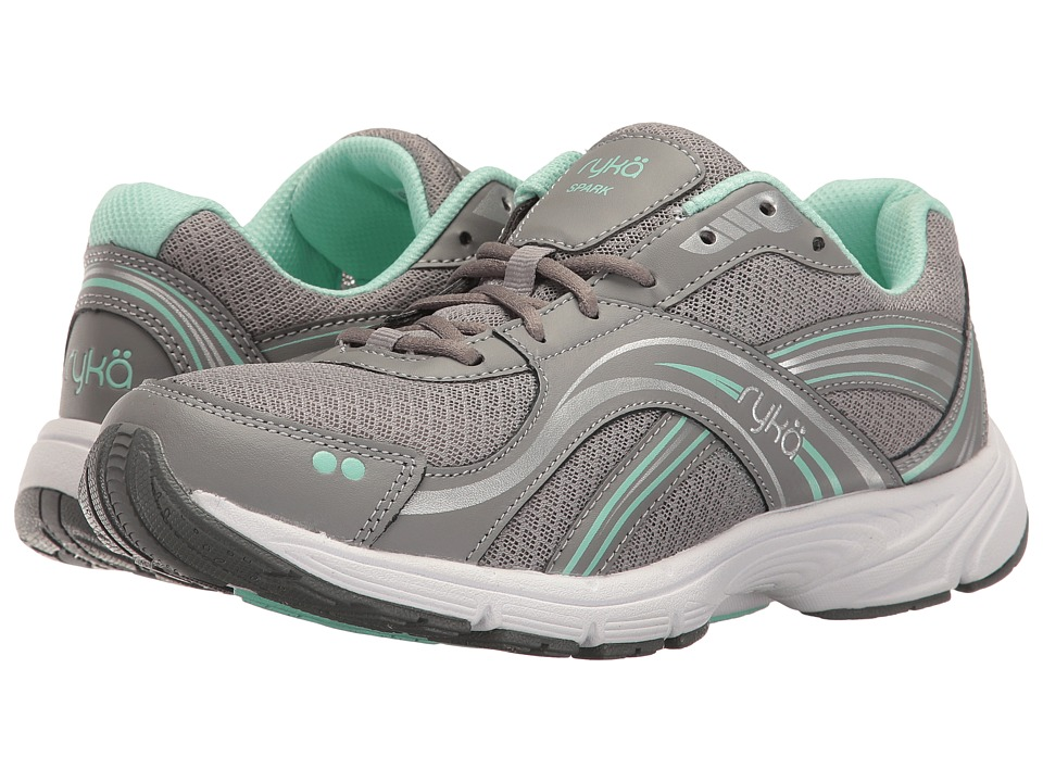 Ryka Spark SMW (Frost Grey/Chrome Silver/Yucca Mint) Women