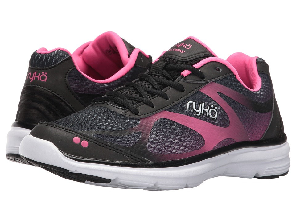 Ryka - Illumine (Black/Neon Flamingo) Women's Shoes