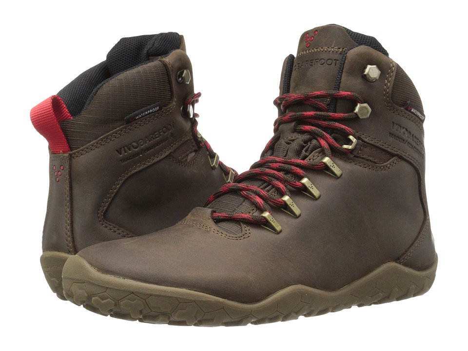 Vivobarefoot - Tracker Firm Ground (Dark Brown) Men's Hiking Boots