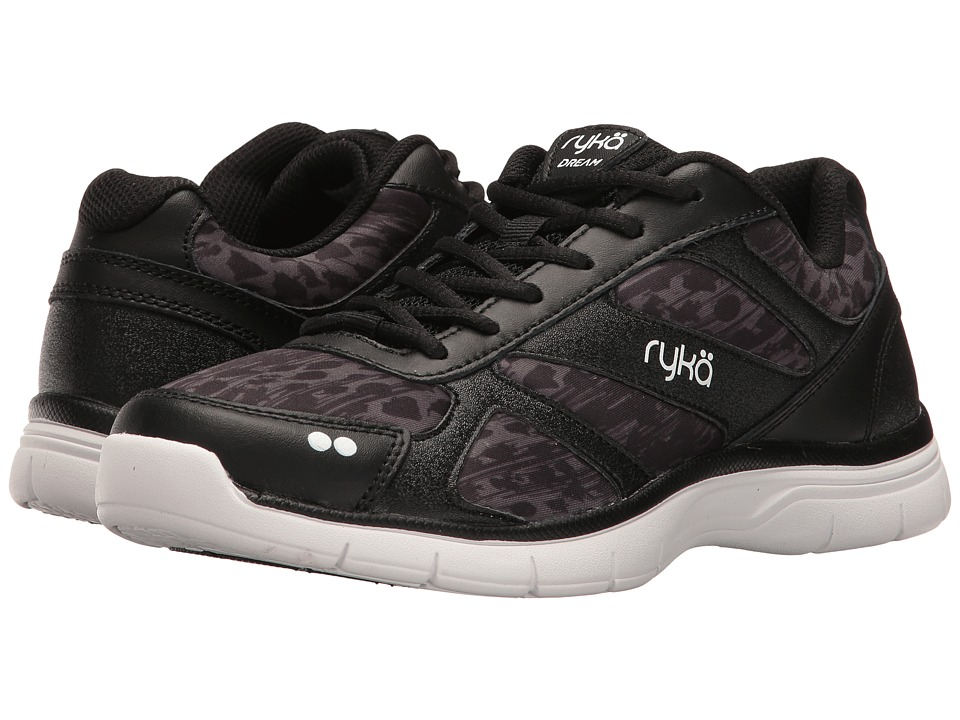 Ryka - Dream SMT (Black/Iron Grey/White) Women's Shoes