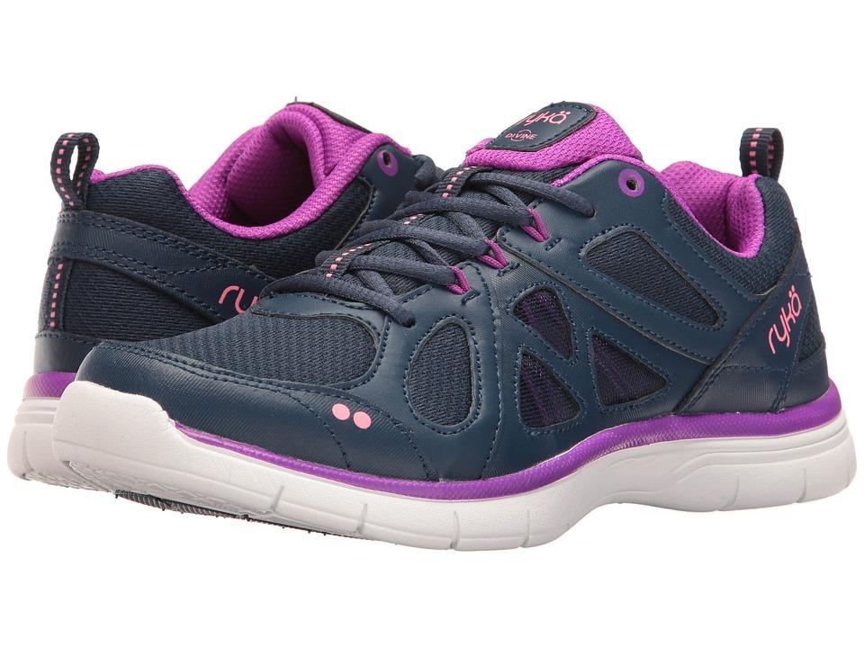 Ryka - Divine SMT (Insignia Blue/Vivid Berry/Calypso Coral) Women's Shoes
