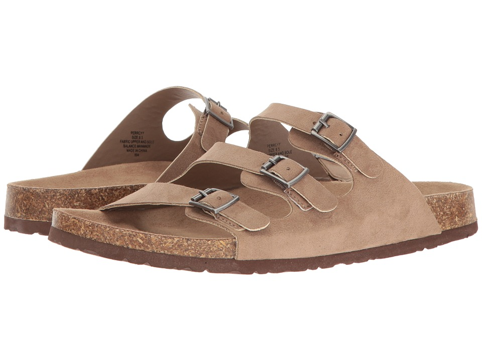 Madden Girl Perrccy (Taupe Fabric) Women