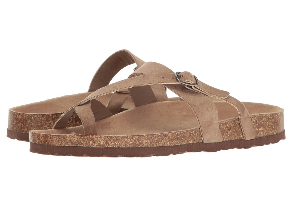Madden Girl Pinsonn (Taupe Fabric) Women