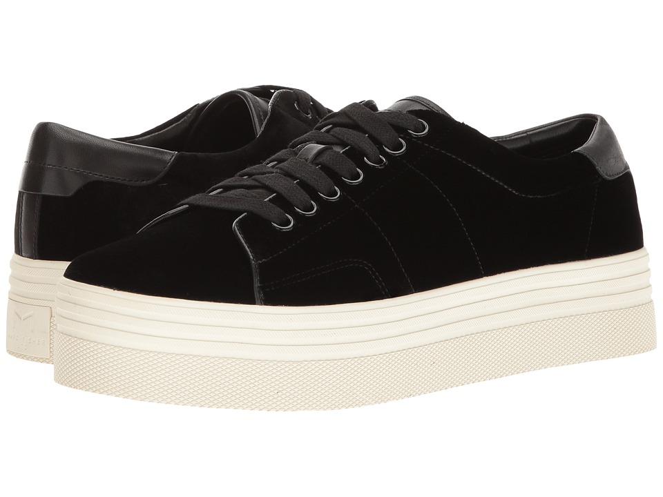 Marc Fisher LTD - Emmy (Black Smart Velvet) Women's Lace up casual Shoes