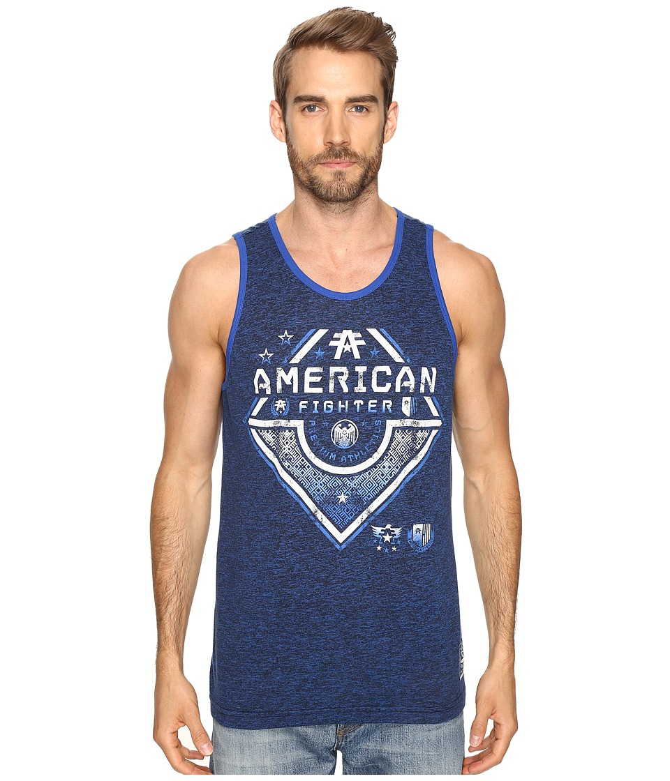 American Fighter - New Orleans Tank Top (Deep Sail) Men's Sleeveless