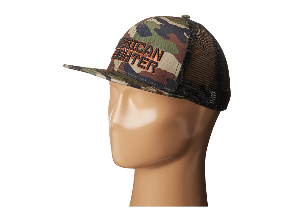 American Fighter - Knowledge Hat (Camo) Caps