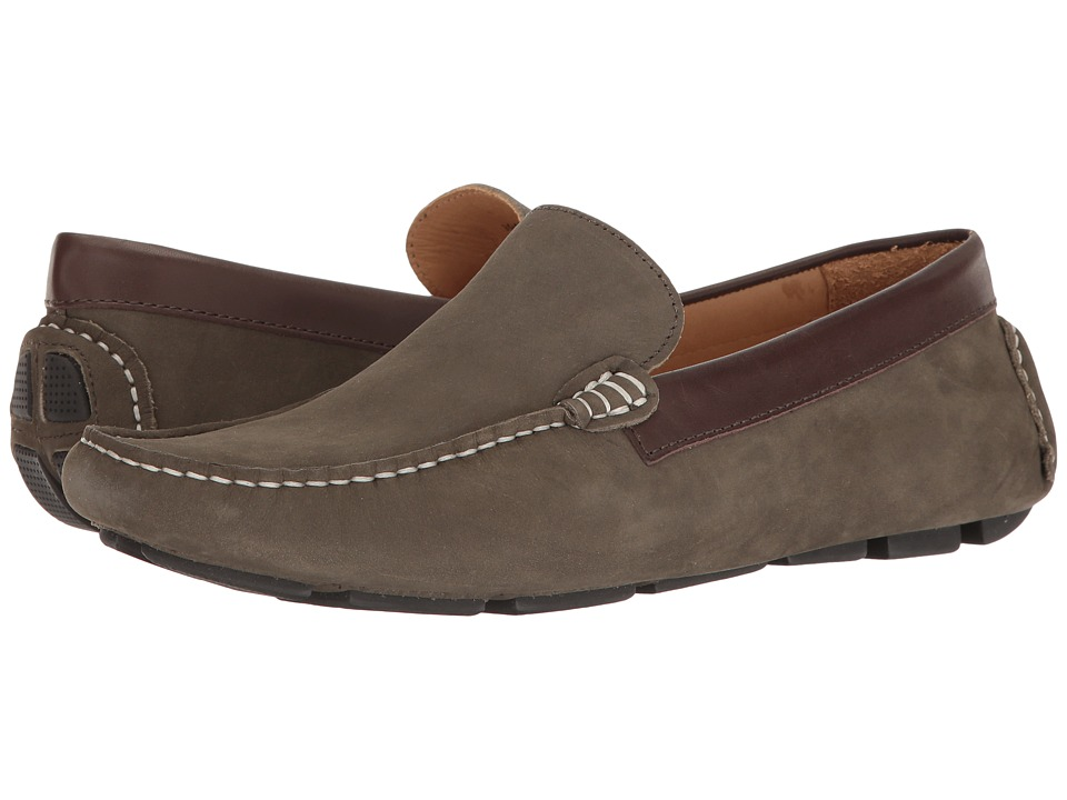 RUSH by Gordon Rush - Davenport (Grey Suede) Men's Slip on Shoes