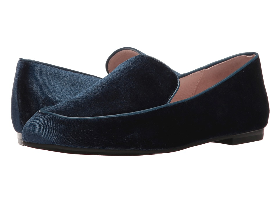 Chinese Laundry - Gabby (Blue Rich Velvet) Women's Slip on Shoes