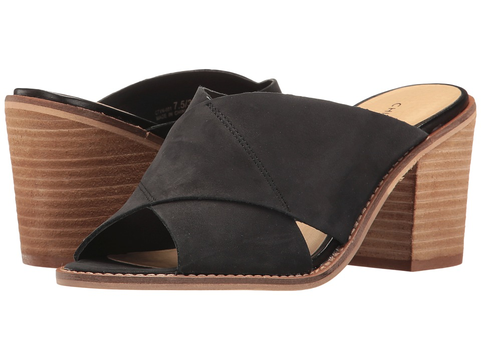 Chinese Laundry - Crissa (Black Leather) High Heels