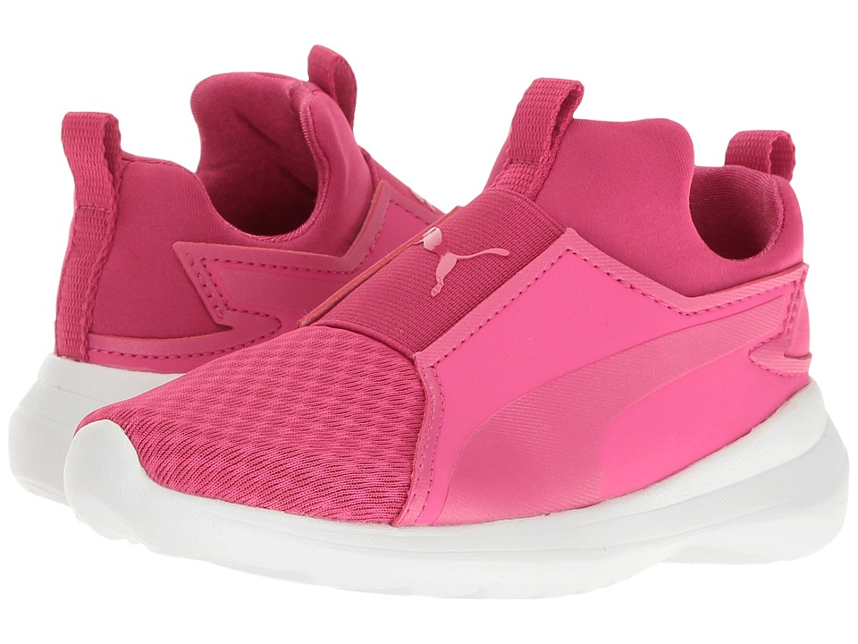 Puma Kids - Rebel Mid (Little Kid/Big Kid) (Beetroot Purple/Beetroot Purple) Girl's Shoes