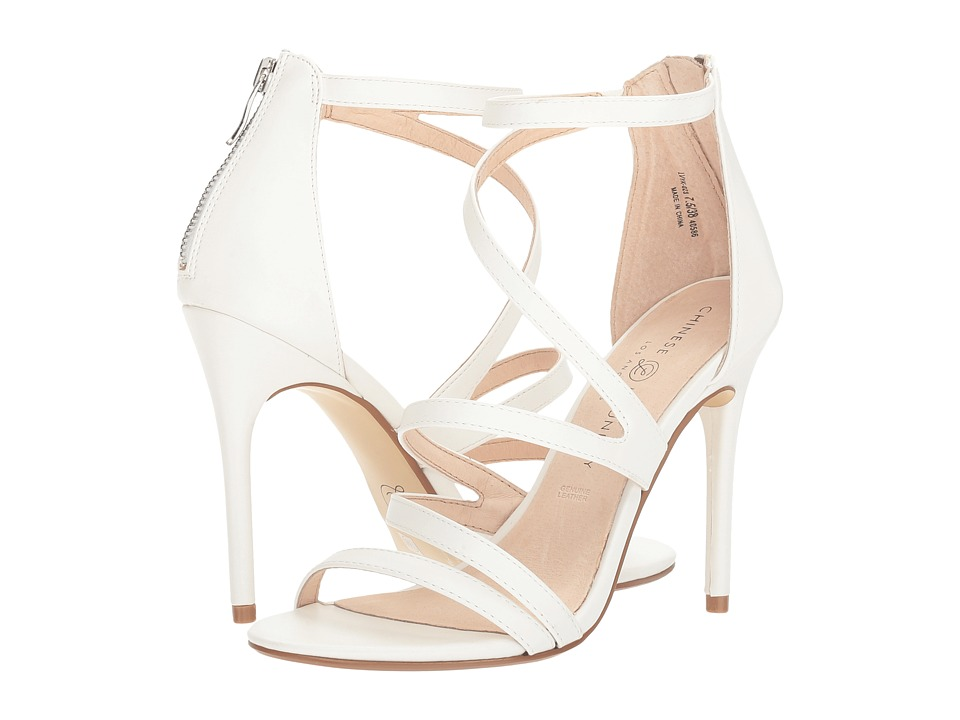 Chinese Laundry Lalli (White Soft Calf) High Heels