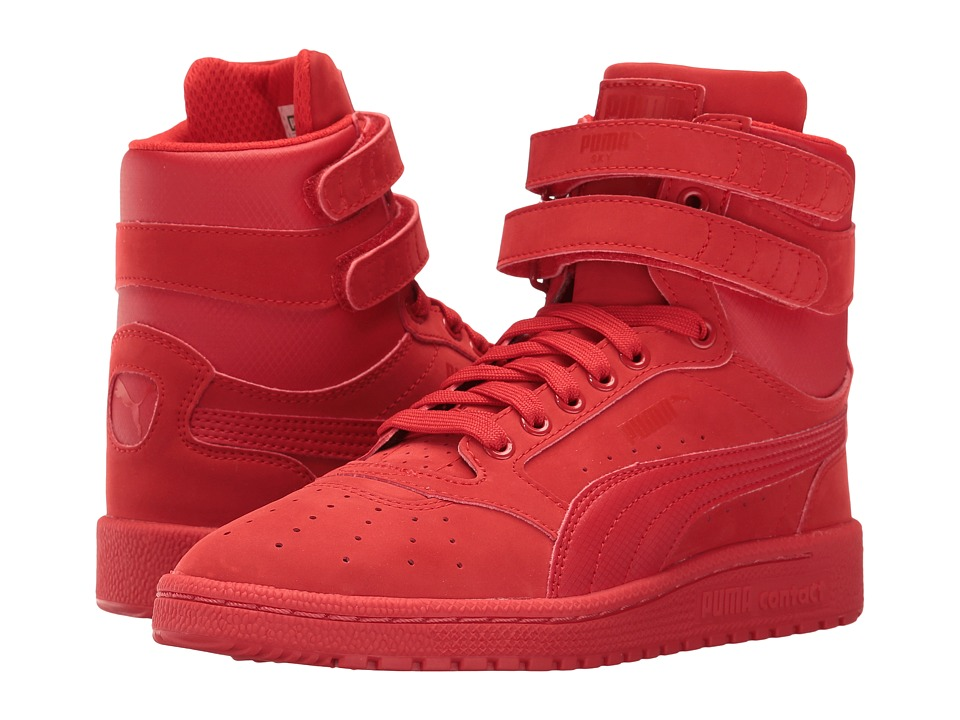Puma Kids - Sky II Hi NBK L (Big Kid) (High Risk Red) Kid's Shoes