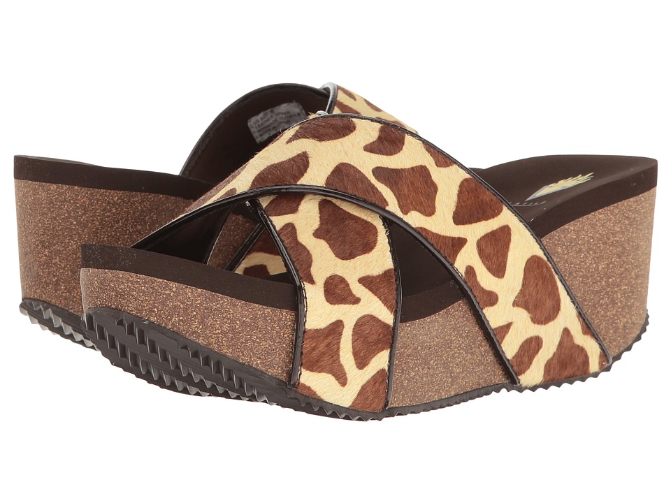VOLATILE - Blade (Brown/Giraffe) Women's Sandals