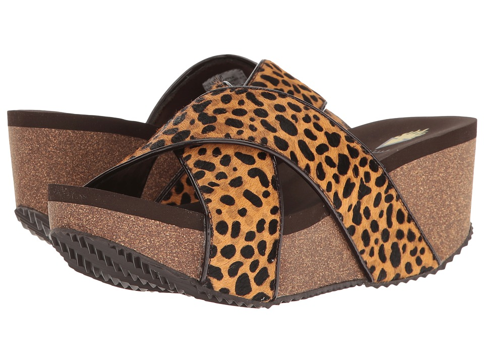VOLATILE - Blade (Brown/Cheetah) Women's Sandals