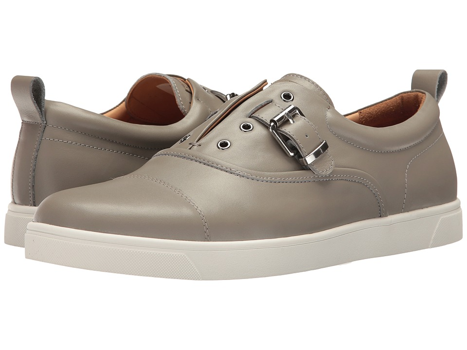 Michael Bastian Gray Label - Ossie Buckle Sneaker (Grey) Men's Shoes