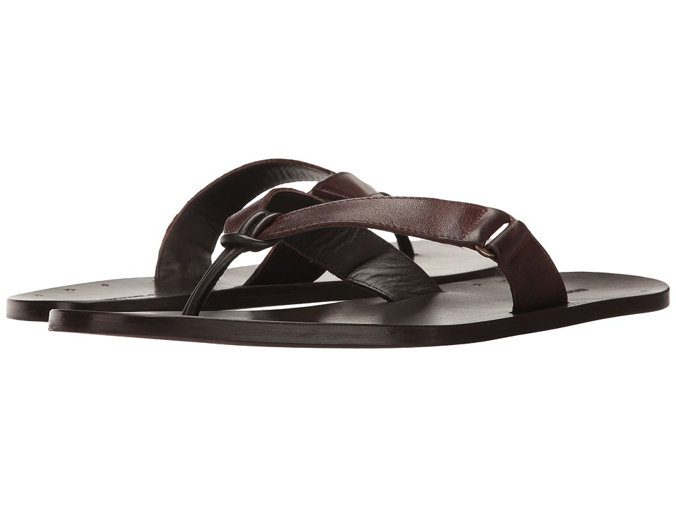 Michael Bastian Gray Label - Miles Thong Sandal (Brown) Men's Sandals