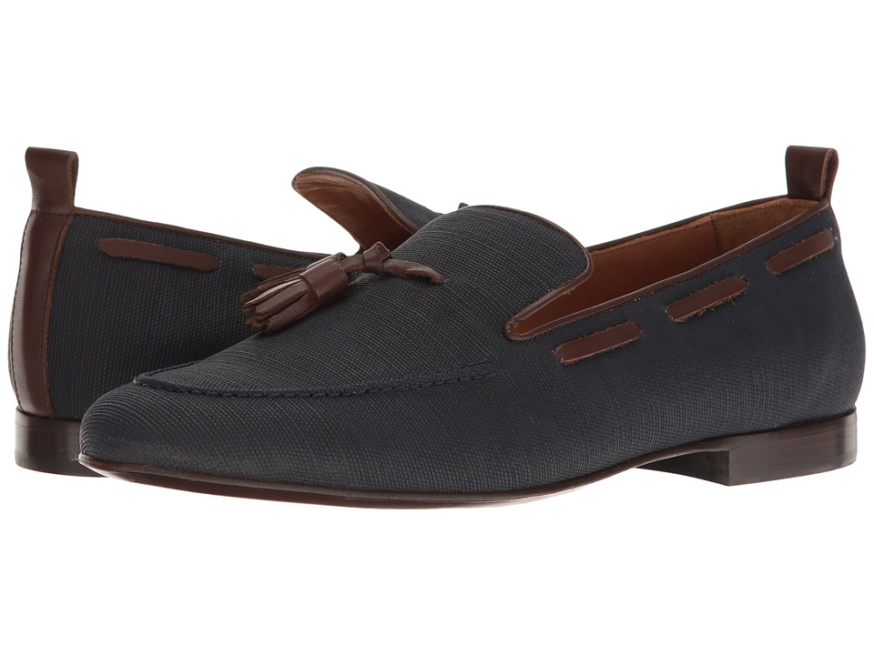 Michael Bastian Gray Label - Bogart Tassel Loafer (Navy) Men's Slip-on Dress Shoes
