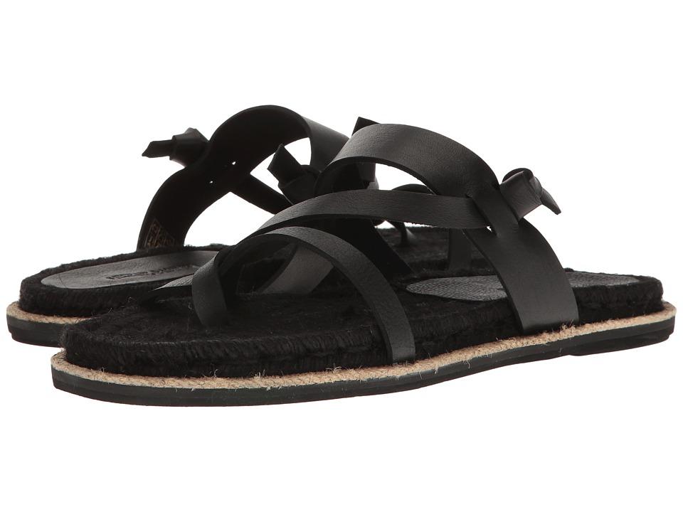 Michael Bastian Gray Label - Babson Thong Sandal (Black) Men's Sandals